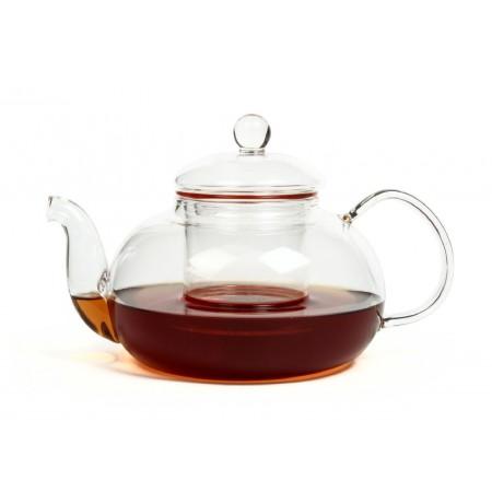 Чайник из жаропрочного стекла 900 мл  с заварочной колбой