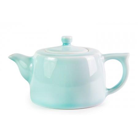 Небесный фарфоровый чайник 220мл