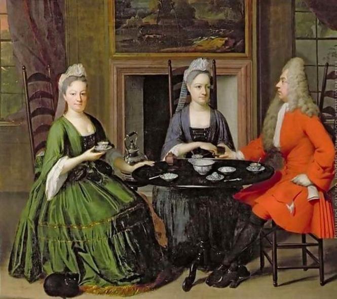 История чая в Европе
