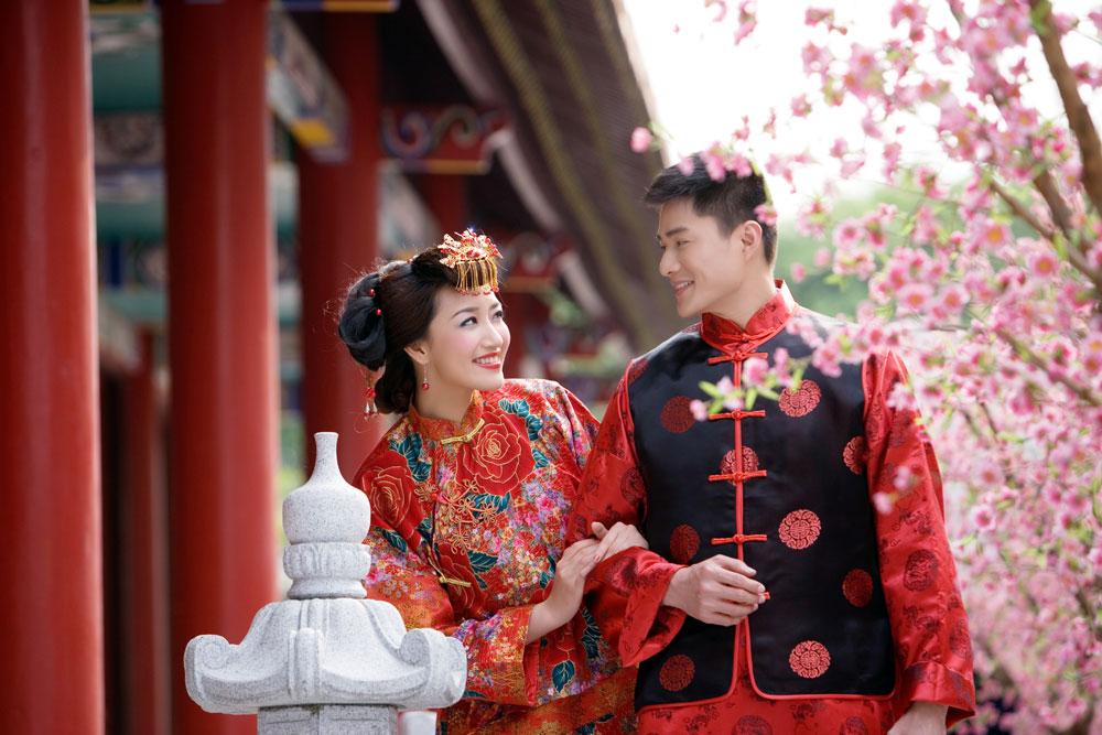 китайская свадебная чайная церемония