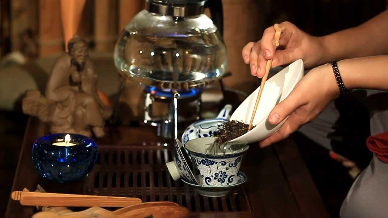 Заваривание чая по методу Лу Юя